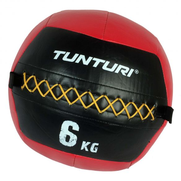 Tunturi Wall ball 6kg rood  14TUSCF010