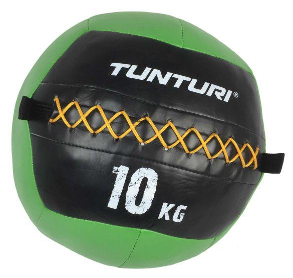 Tunturi Wall ball 10kg groen  14TUSCF012