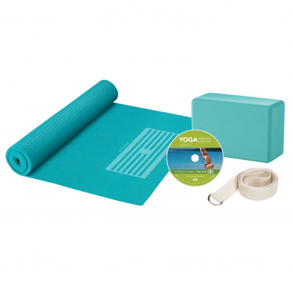 Gaiam Yoga for beginners kit  G05-53724