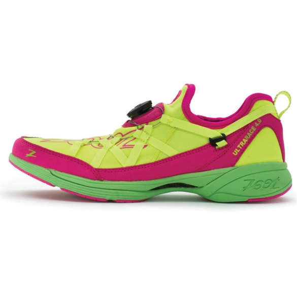 Zoot Triathlon schoenen women's M Ultra Race 4.0 yellow blaze green  ZOOTULTRARACE40