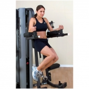 Body Solid Vertical Knee Raise and Dip Station for G9S