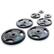 Olympische halterschijven (50mm) set 60 kg rubber