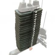 Body-Solid weight stack uitbreiding naar 140 KG