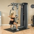 Body Solid Pro Dual Line Vertical Press en Lat Machine (DPLSSF)  DPLSSF