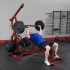 Body-Solid Corner leverage gym + halterbank  GLGS100P4