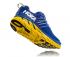 Hoka One One Clifton 6 hardloopschoenen blauw/geel heren  1102872-NBLM-VRR