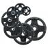 Body-Solid Olympische halterschijf rubber 25 kg  ORTK25