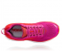 Hoka One One Clifton 6 wide hardloopschoenen rood/wit dames  1102877-PRCFL