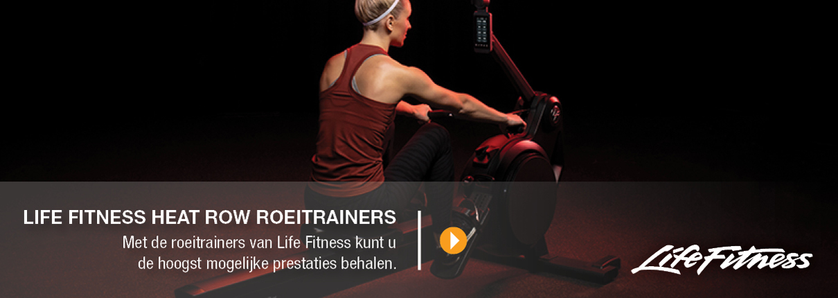 Life Fitness heat row roeitrainers